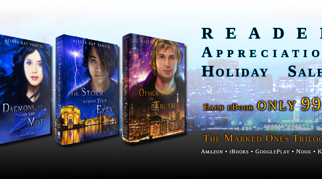 Reader Appreciation Holiday 99¢ Sale & Giveaway!